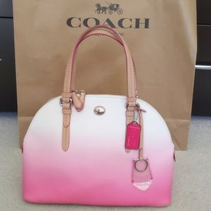 Coach Water Color Peyton Domed Satchel Limited Ed